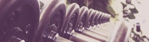 gym line weights