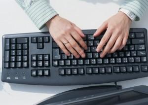 keyboard office
