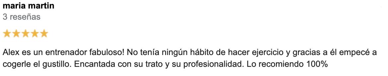 Entrenamiento personal en Valladolid